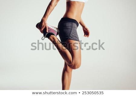 изображение женщину Runner одежды работает Сток-фото © deandrobot