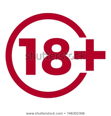dix-huit · année · ans · 18 - photo stock © smoki