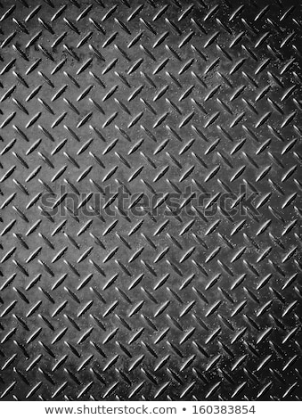 metal background with rhombus shape patterns Stock photo © SArts