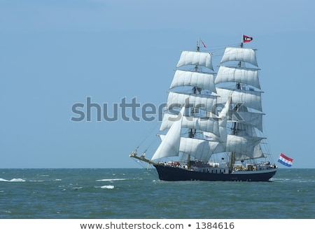 Stock photo: Classic old Dutch sailing boat