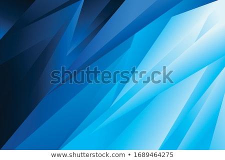 Bleu hiver résumé Noël flocons de neige vecteur Photo stock © fresh_5265954