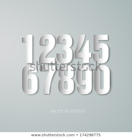 Different math signs in gray fonts Stock photo © bluering