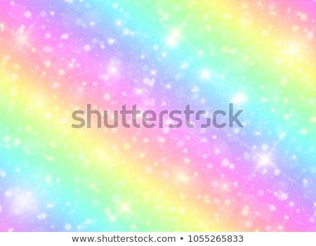 прелестный · иллюстрация · сидят · мечта · розовый · Cartoon - Сток-фото © zsooofija