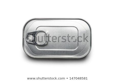 kapalı · kalay · can · ahşap · konteyner - stok fotoğraf © digifoodstock