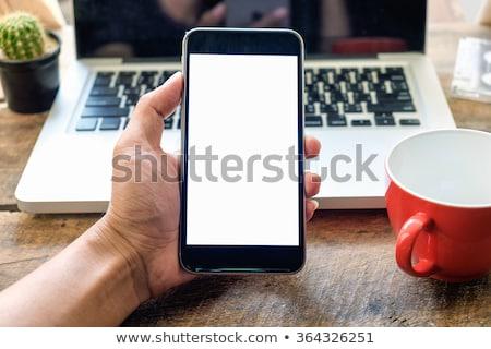 mão · caneca · de · café · branco · café · mulheres - foto stock © wavebreak_media