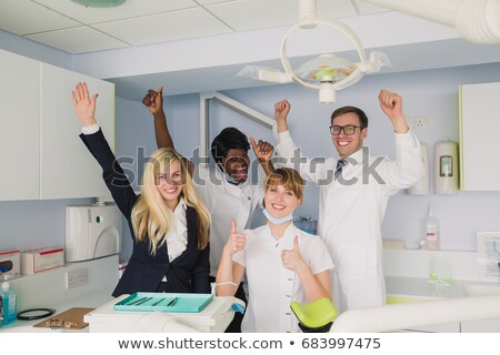 Portrait of a dental office manager Stock photo © IS2