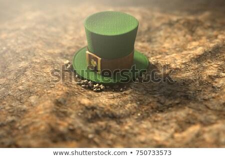 Lost Tiny Leprechaun Hat  Stock photo © albund