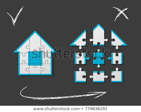 building game 9 differences Stock photo © Olena