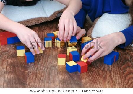 память игры детей обучения геометрия Сток-фото © Olena