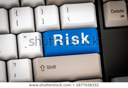 Financial Solutions on the White Keyboard Button. 3d. Stock photo © tashatuvango