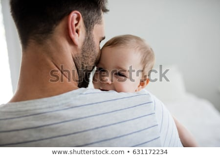 baby with father stock photo © IS2