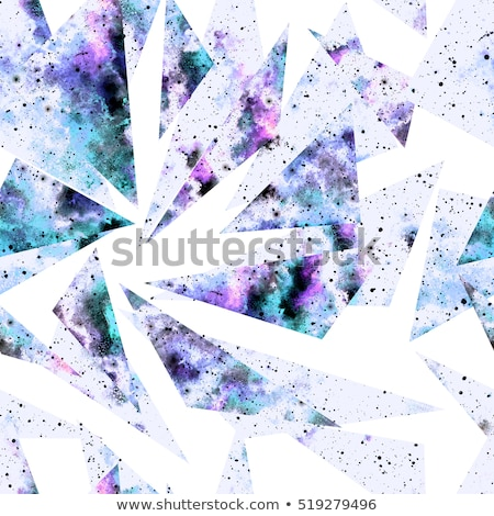 seamless ultraviolet geometric pattern stock photo © sonya_illustrations