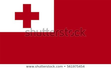 Tonga bandera blanco resumen diseno mundo Foto stock © butenkow