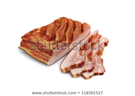 smoked pork section Stock photo © FOKA