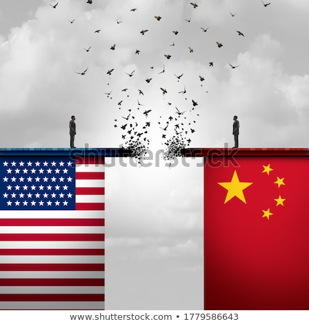 China United States Tariff War Stock photo © Lightsource