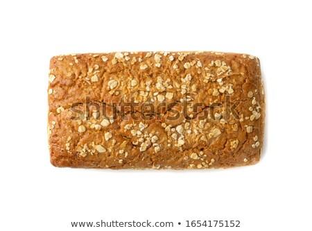 Ziarna pszenicy chleba bochenek ilustracja Zdjęcia stock © lenm