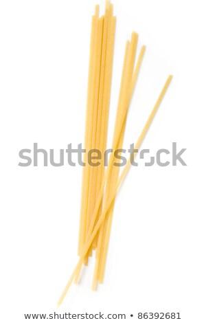Сток-фото: сырой · спагетти · пшеницы · мнение