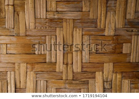 handcraft mexican cane basketry vegetal texture Stock photo © lunamarina