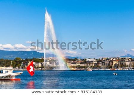 Jet d'Eau in Geneva Stock photo © benkrut