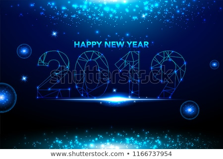 2015 · 流れ星 · カード · 明けましておめでとうございます · グリーティングカード - ストックフォト © cienpies