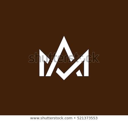 vector logo letter m and w icon sign stock photo © blaskorizov