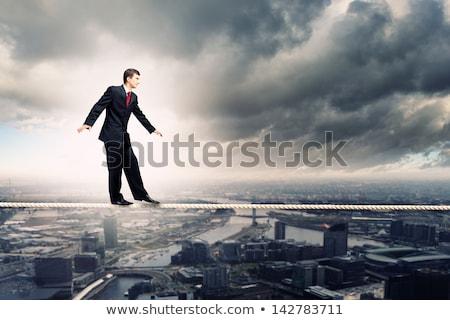挑戦 リスク ビジネス 保険 シンボル 迷路 ストックフォト © Lightsource