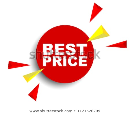Hot Price Best Choice Offer Vector Illustration Stock photo © robuart