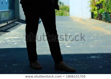 подробность · Постоянный · женщину · лет · одежды - Сток-фото © phbcz