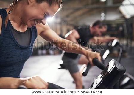 esportes · ginásio · tópico · imagem · homem · projeto - foto stock © colematt