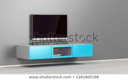 Big led tv with soundbar Stock photo © magraphics