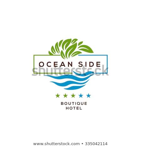 бутик отель деловые люди звезды подобно Сток-фото © RAStudio