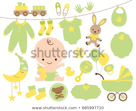 vector set of stuffed animals Stock photo © olllikeballoon