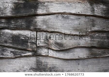 öreg · fából · készült · plafon · fal · ház · épület - stock fotó © romvo