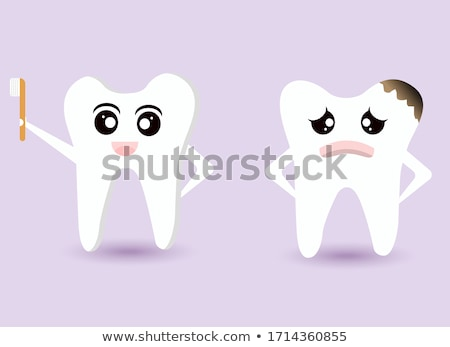 sad teeth stock photo © get4net