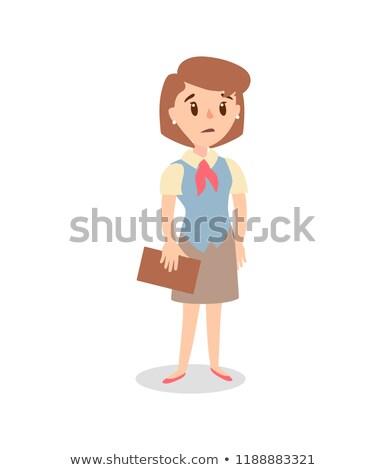 mulher · empresário · construção · executivo · pessoa · trabalhador - foto stock © bonnie_cocos
