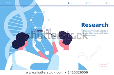 Genetic testing concept vector illustration. Stock photo © RAStudio