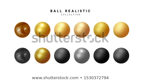 Stock photo: Black and Beige Glossy Shaded Circle Vector Illustration