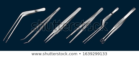 vector set of forceps Stock photo © olllikeballoon