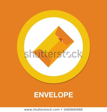 Zarf mesaj yazışma bilgi iş bilgi Stok fotoğraf © robuart