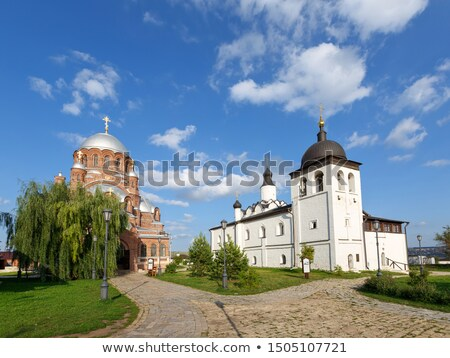 st john the forerunner convent sviyazhsk russia stock photo © borisb17