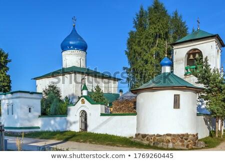 church of Constantine and Helen, Pskov Stock photo © borisb17