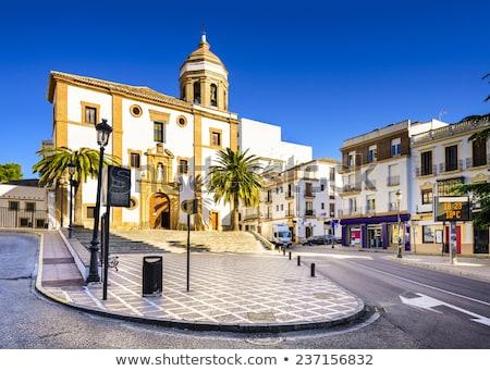 教会 ラ スペイン センター 旅行 アーキテクチャ ストックフォト © borisb17