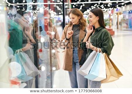 小さな 買い物客 贈り物 スタック ストックフォト © pressmaster