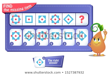 what find next  riddle iq Stock photo © Olena