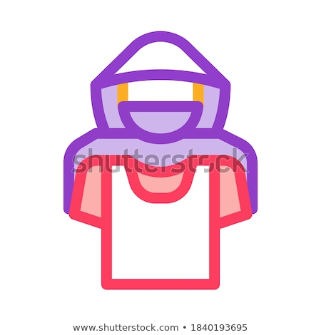 Tshirt winkeldief icon vector schets illustratie Stockfoto © pikepicture