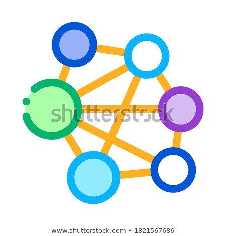 mesh confusion icon vector outline illustration Stock photo © pikepicture
