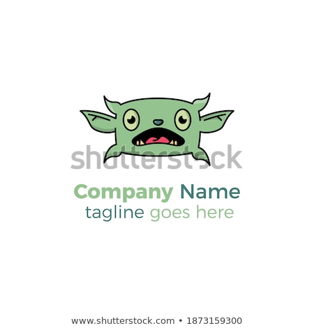 Monster types - line design style icons set Stock photo © Decorwithme