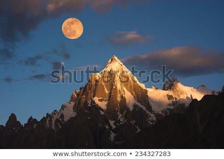Terjedelem hegyek Himalája kilátás LA passz Stock fotó © dmitry_rukhlenko