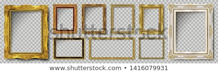 Vintage wooden frame  stock photo © homydesign