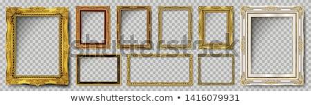 Vintage wooden frame  stock photo © homydesign